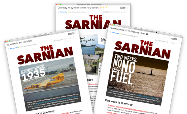 The Sarnian newsletter