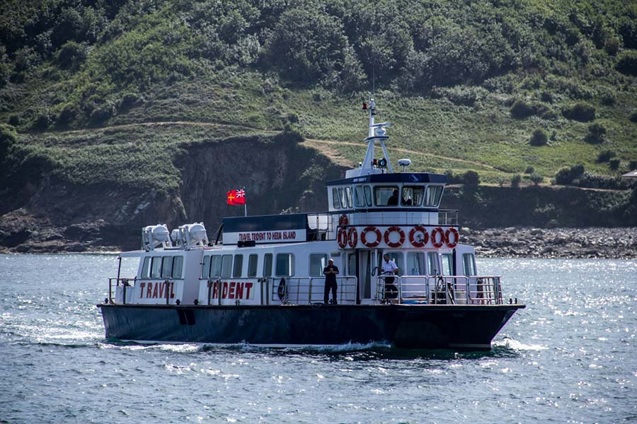 Trident ferry at Herm