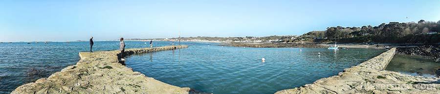 Portelet harbour