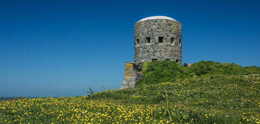 Loophole tower at Rousse, Guernsey