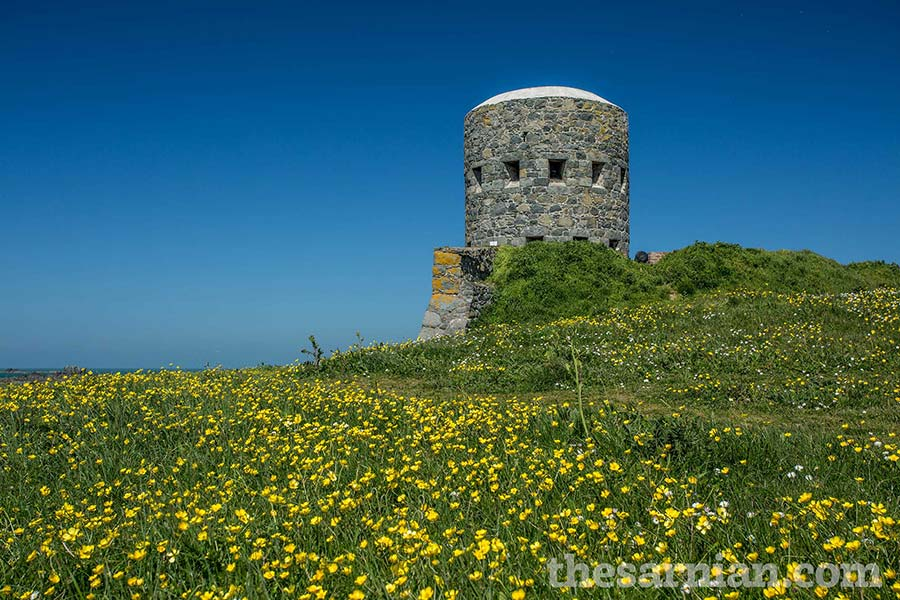 Defensive tower at Rousse