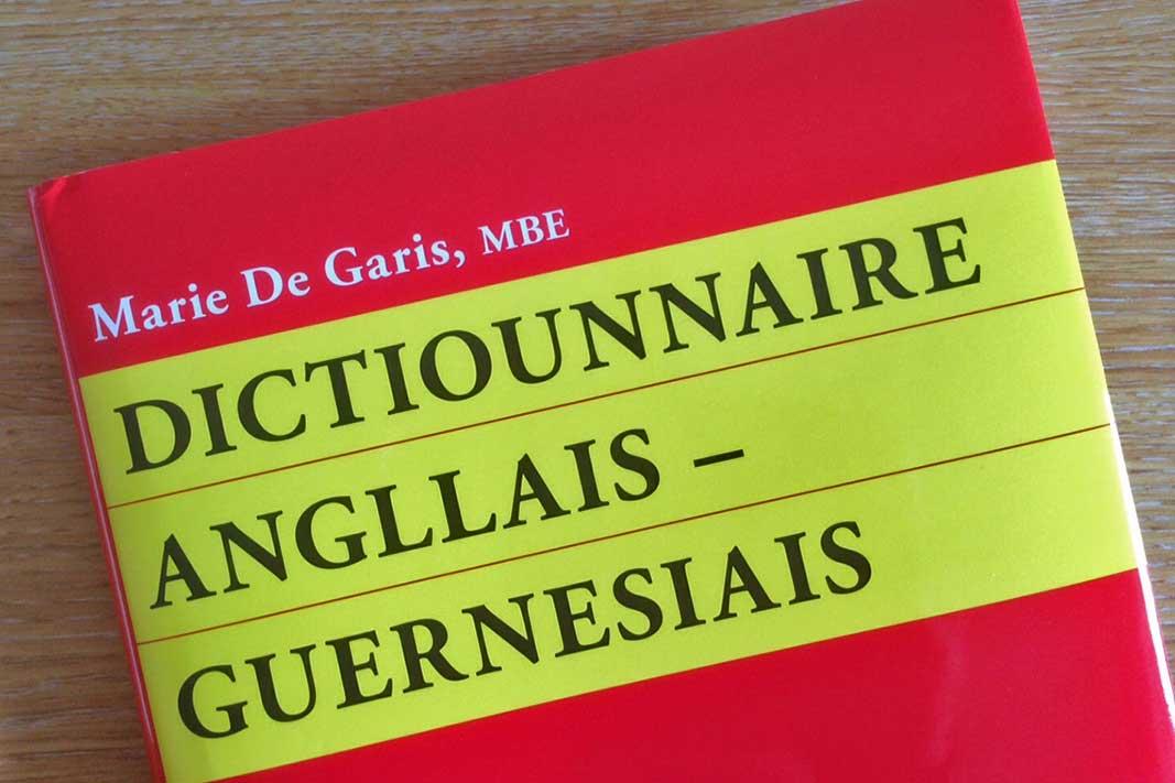 Dictiounnaire Angllais-Guernesiais