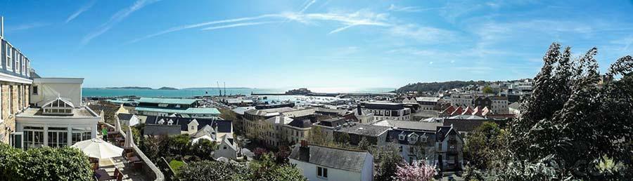 St Peter Port rooftops