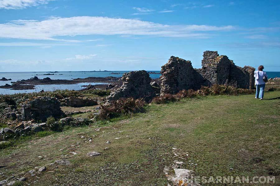 Monastery ruins on Lihou