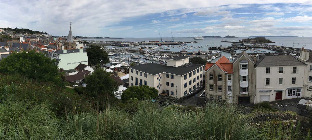 Castle Cornet from St Peter Port