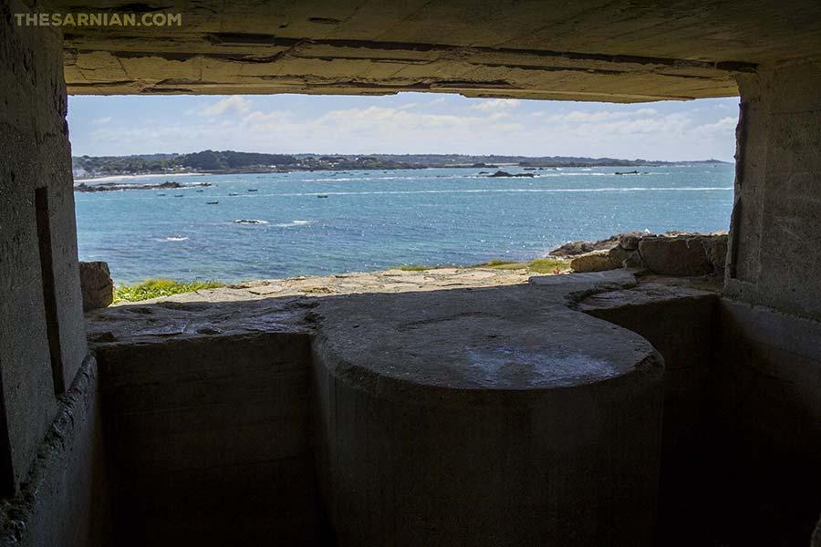 Fort Hommet / houmet interior
