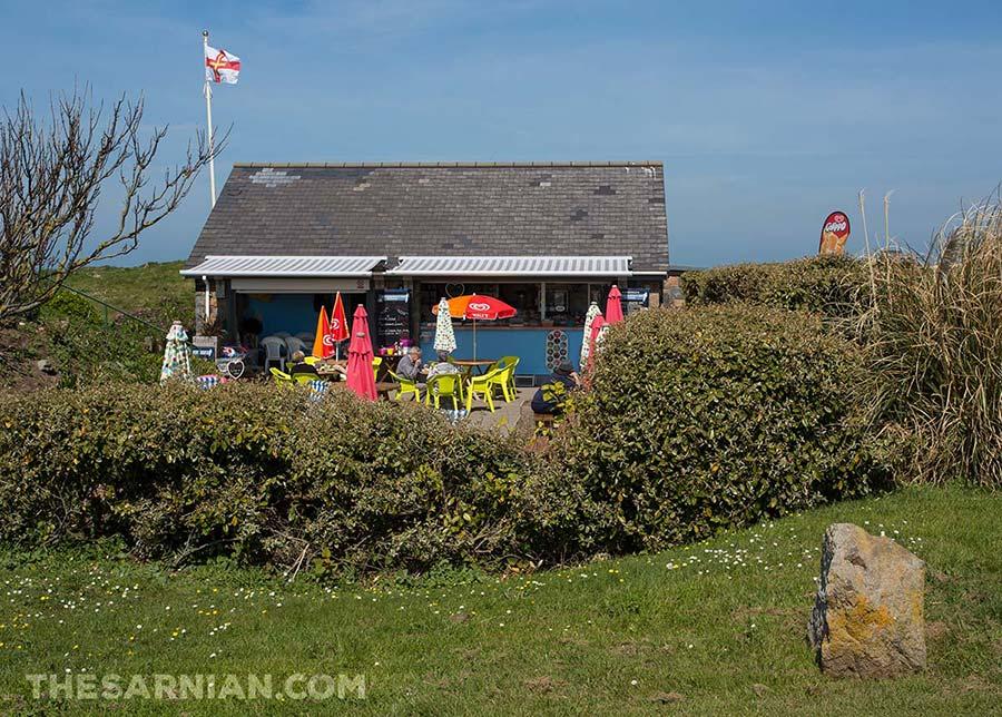 Port Soif kiosk, Guernsey