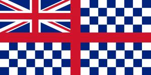 19th century Guernsey flag