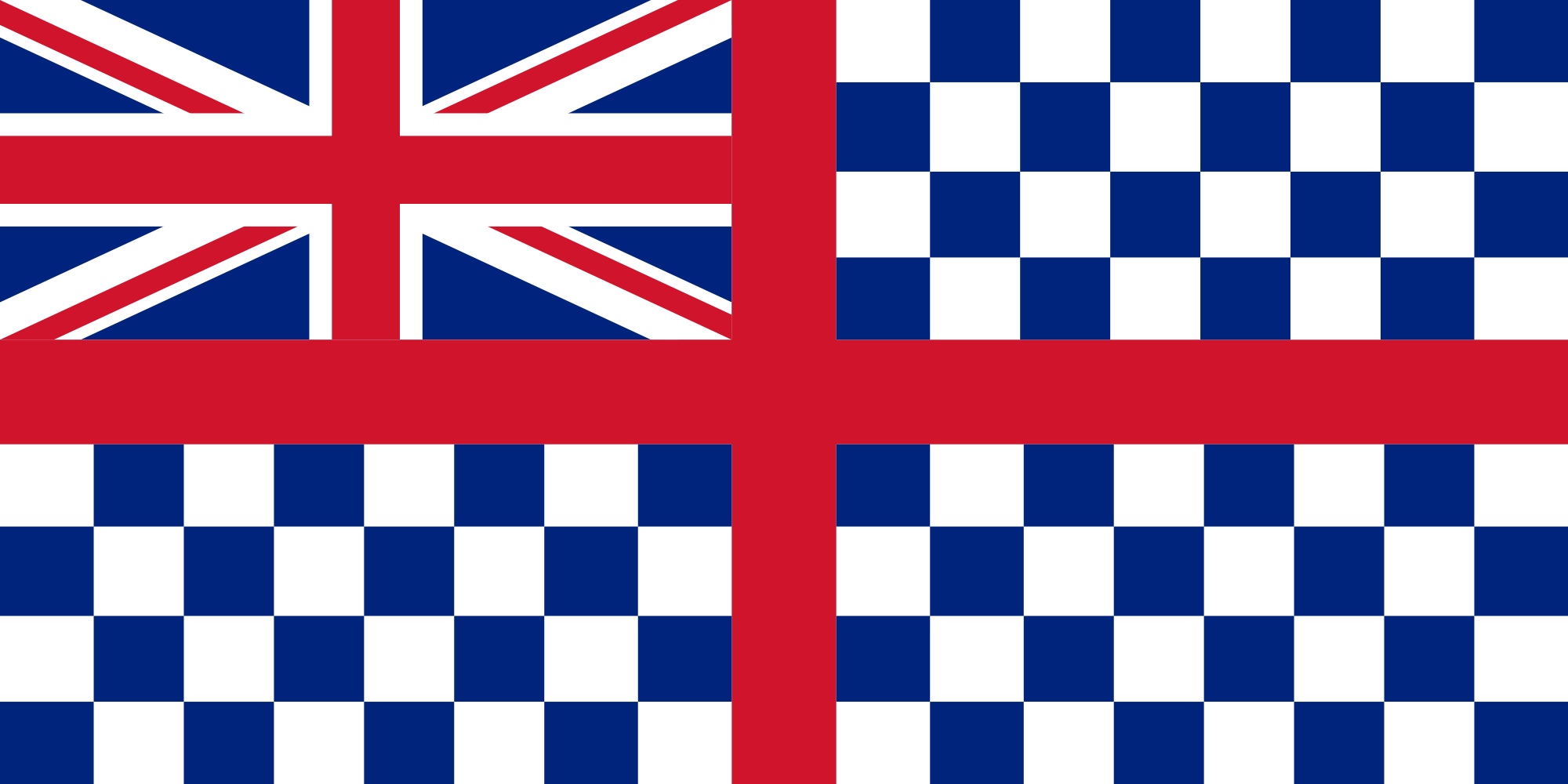 19th century Guernsey flag